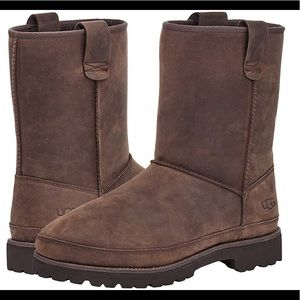 UGG🌼Courtland  waterproof boots color Grizzly Men